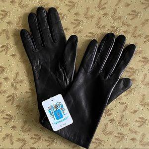 New Portolano Dark Brown Ladies Leather Gloves